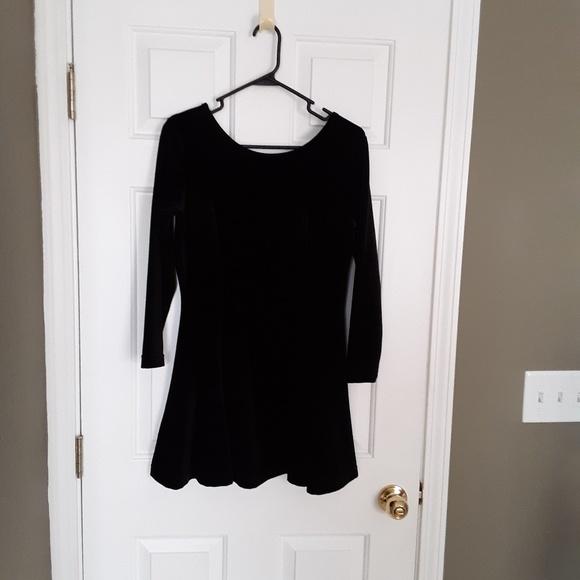 Boutique Europa by Newport News Dresses & Skirts - Little Black Velvet Dress